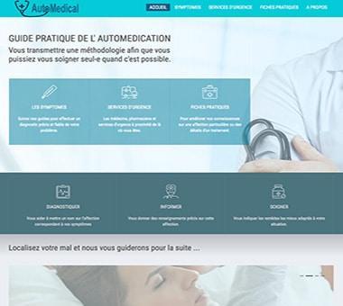 RÉALISATION DE SITE : Para-médical