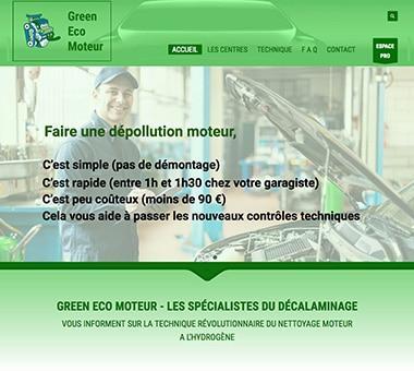 RÉALISATION DE SITE : Équipements automobiles