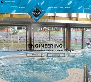 RÉALISATION DE SITE : Ingénierie Hydrologique