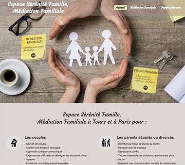 RÉALISATION DE SITE : Médiation familiale