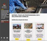 RÉALISATION DE SITE : Produits d'isolation de toiture